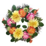 SONOMA Goods for Life? Artificial Colorful Flower Wreath Wall Decor