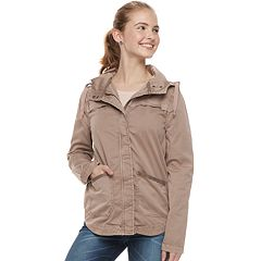 Juniors' SO® Hooded Jacket