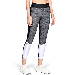 Women's Under Armour HeatGear Jacquard Mid-Rise Ankle Leggings