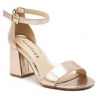 Rampage Norma Women's Block Heel Dress Sandals