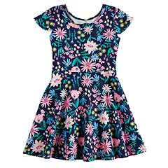 Girls 4-10 Jumping Beans® Print Skater Dress