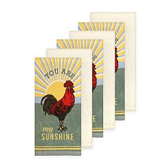 The Big One® Rooster Kitchen Towel 6-pack