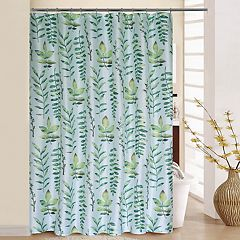 Waverly Leaf of Faith Shower Curtain & Rings