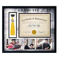 New View 'Graduate 2018' Diploma Tassel Frame