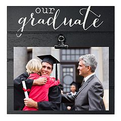 New View 'Our Graduate' 4' x 6' Photo Clip Frame