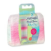 Kids WestPoint Home Pink Ombre Mermaid Tail Plush Throw