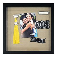 New View 2018 Graduation Shadowbox Wall Decor