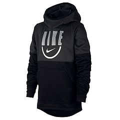 b09b73083b Boys 8-20 Nike Spotlight Pull-Over Hoodie. Gray Heather Anthracite.  clearance