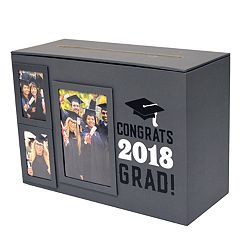 New View 'Congrats 2018' Graduation Envelope Box Table Decor