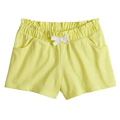 Girls 4-10 Jumping Beans® Paper Bag Waist Shorts