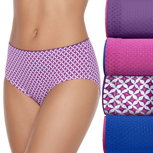 40dac306dcc2 Fruit of the Loom 5-pack Breathable Micro Mesh Low Rise Briefs 5DBKLRB