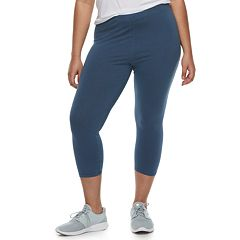 Juniors' Plus Size SO® Solid Capri Leggings