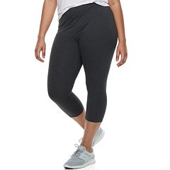 Juniors' Plus Size SO® Basic Capri Leggings