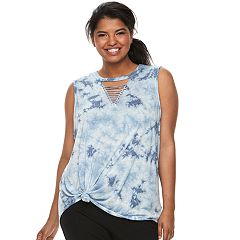 Juniors' Plus Size SO® Strappy Tank