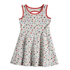 Toddler Girl Jumping Beans® Star Skater Dress
