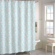 Destinations Ocean view Shower Curtain