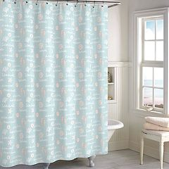 Destinations Ocean view Shower Curtain