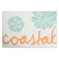 Destinations Coastal Ocean view Bath Rug