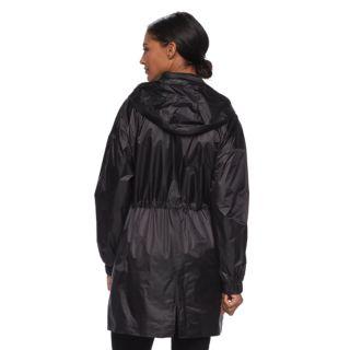 Women's TOWER by London Fog Hooded Metallic Anorak Jacket