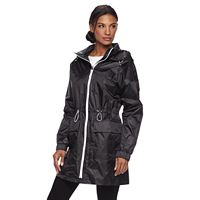 Women's TOWER by London Fog Hooded Metallic Anorak Jacket