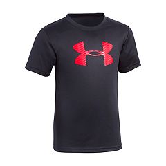Boys 4-7 Under Armour Oversized Logo Graphic Tee