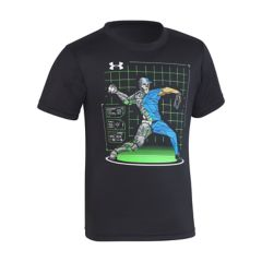 Boys 4-7 Under Armour Baseball Pitcher Graphic Tee