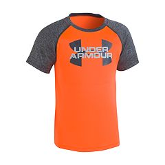 Boys 4-7 Under Armour Logo Raglan Graphic Tee
