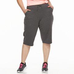 Plus Size Tek Gear® Straight-Leg Skimmer Capris
