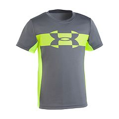Boys 4-7 Under Armour Mesh Logo Tech Top