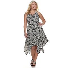 Juniors' Plus Size Candies® Lace-Up Maxi Dress