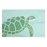 Destinations Sea Turtle Bath Rug