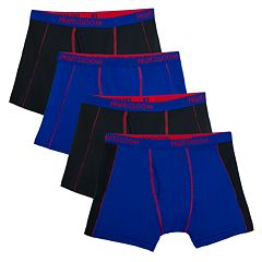 Boys 4-20 Fruit of the Loom 4-Pack Flex Boxer Briefs