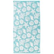Destinations Shell Beach Bath Towel