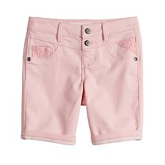 Girls 4-12 SONOMA Goods for Life™ Sateen Bermuda Shorts