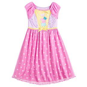 Toddler Girl Peppa Pig Fantasy Nightgown