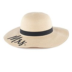 Women's 'Mrs.' Floppy Hat