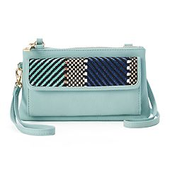 Apt. 9® Chelsea Chevron RFID-Blocking Crossbody Wallet