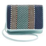 Apt. 9® London Chevron RFID-Blocking Crossbody Wallet