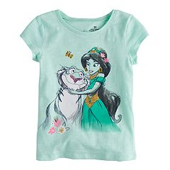 Disney's Jasmine & Raja Glitter Graphic Tee by Jumping Beans®