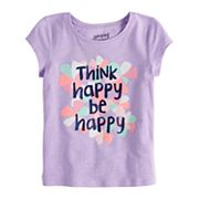 Toddler Girl Jumping Beans® Slubbed Graphic Tee