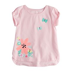 Toddler Girl Jumping Beans® Applique Graphic Tee