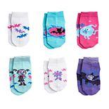 Toddler Girl Vampirina 6-pack Shorty Socks