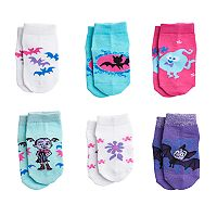 Toddler Girl Vampirina 6-pack Shorty Socks