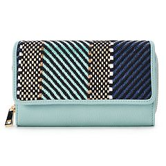 Apt. 9® Chevron RFID-Blocking Ultimate Organizer Wallet