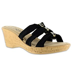 Tuscany by Easy Street Andrea ... Women's Wedge Sandals cheap USA stockist for sale outlet cheap online buy cheap for cheap 4qmLofs