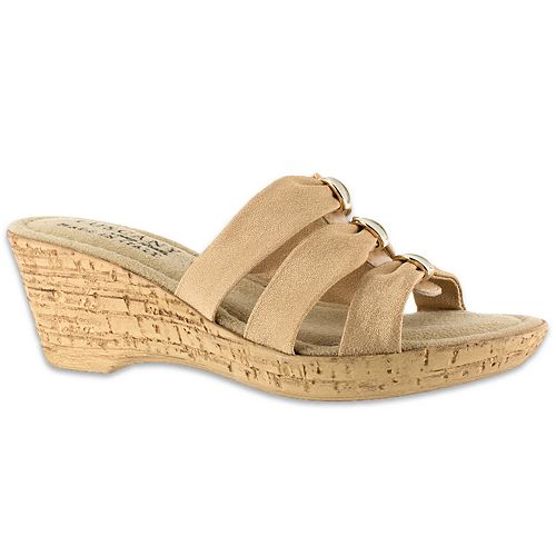 f48250f3f090 Tuscany by Easy Street Andrea Women s Wedge Sandals