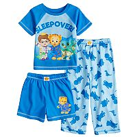 Todder Boy Daniel Tiger, Prince Wednesday & O the Owl Top & Bottoms Pajama Set