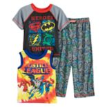 "Toddler Boy DC Comics ""Justice League"" Superman, Batman, The Flash & Green Lantern Tops & Bottoms Pajama Set"