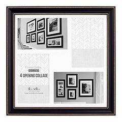 Malden 4-Opening Distressed 4' x 6' Collage Frame