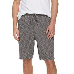 Men's Croft & Barrow® True Comfort Slubbed Knit Sleep Shorts